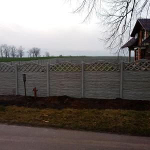 ogrodzenia betonowe 13