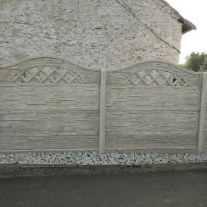 ogrodzenia betonowe 14
