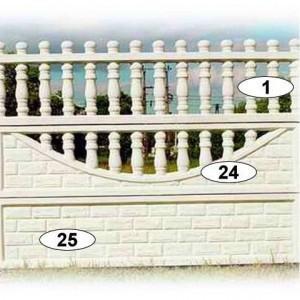 ogrodzenia betonowe 31