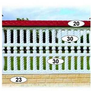 ogrodzenia betonowe 32