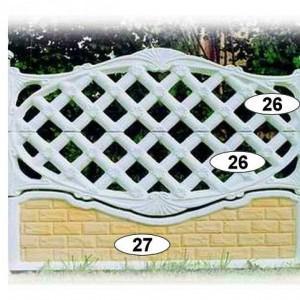 ogrodzenia betonowe 34